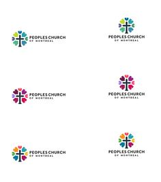 W.I.P (Work In Process) Church Logo Design - Peoples Church of Montreal http://smith.gl/1spFKc7