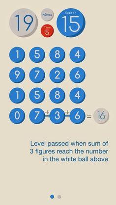 Nếu bạn là một người yêu thích toán học với các phép tính liên tục. Nếu bạn tự tin vào năng lực tính nhẩm của mình và cần một sự thử thách. Hãy tai game mobile Crazy Triple - là một sản phẩm của Freaky Games Studio ( thành viên của Freaky Motion Co., Ltd )