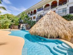 Gorgeous condo w/ private hot tub, pool, shared pool access, & ocean views! Villa Plan, Vacation Days, Beautiful Pools, Plunge Pool, Workout Rooms, Ocean Beach, Great View, Go Outside, Great Places