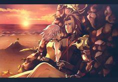 Tags: Anime, Fanart, Kingdom Hearts, Riku, Pixiv