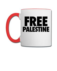 Free Palestine palestine - Coffee/Tea Mug
