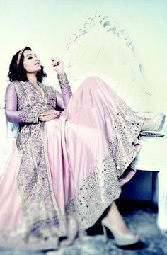 SONAKSHI SINHA FEAT. IN BRIDAL MANTRA, 2015. Styled by Sakshi Mehra - celebrity bridal fashion - Indian bridal couture #thecrimsonbride