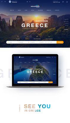 Greece Travel on Behance