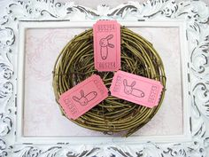Diaper Pin Tickets Baby Shower Games Cloth Pins Safety
