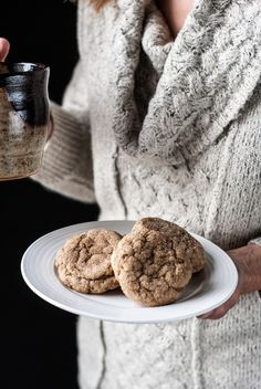 recipe for soft, buttery, slightly spicy vanilla chai cookies. These make your house smell amazing and comforting on a cool fall day.