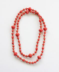 Rockstar Orange Necklace from Noonday Collection