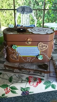 Memory box for best friend