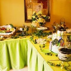 Decorating buffet ideas and setting up a beautiful presentation can add so much to your event -- whether it is Easter Dinner at home, a wedding...
