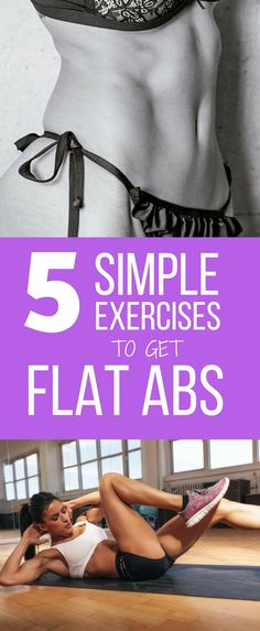 How to Get Flat Abs at home with 5 Simple Exercises - To achieve a defined belly it is important that, in addition to practicing these exercises frequently, we combine them with a healthy and balanced diet that does not exceed in calories. In fact, you can just do these 5 simple exercises to tone your belly at home, at any time of the day.