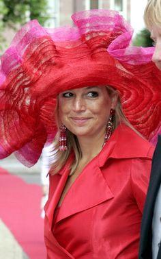 Princess Máxima, August 27, 2005 in Fabienne Delvigne | Royal Hats