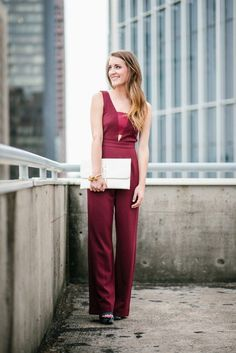 Wedding Guest Style: The Formal Jumpsuit guest outfit march Jumpsuit Formal Wedding, Formal Jumpsuit, Wedding Dress, Fall Wedding Outfits, Holiday Outfits, Maxon Schreave, Wedding Guest Style, Wedding Stuff, Jumpsuits For Women