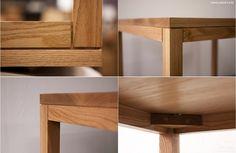 oak dining table w 1,000 * d 800 * h 750