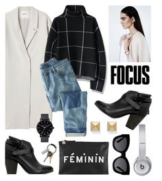 """quick set"" by cutandpaste ❤ liked on Polyvore featuring Monki, Clare V., Chicwish, rag & bone, Wrap, CB2, Beats by Dr. Dre, Karen Walker, The Horse and Palm Beach Jewelry"