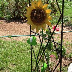 Cute Metal Flowers | Garden Art | Pinterest | Sunflower Flower, Metal  Artwork And Sunflowers