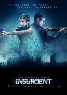 Insurgent: The Movie Photo: Tris and Four,Insurgent movie Divergent Fandom, Divergent Trilogy, Divergent Insurgent Allegiant, Veronica Roth, Theo James, Tv Series Online, Movies Online, Tris Et Quatre, Tris And Four