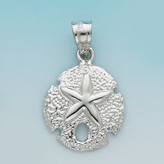 Sterling Silver .925 Sand Dollar Pendent Summer all the Time!