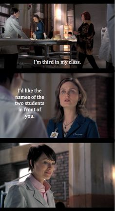 (I found it interesting there were prototypes of the squinterns in this scene. Bones Series, Bones Tv Show, Booth And Bones, Booth And Brennan, Top Tv Shows, Great Tv Shows, Bones Quotes, Kathy Reichs, Fbi Special Agent
