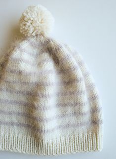 Whit's Knits: Soft and Sweet Hats - Knitting Crochet Sewing Crafts Patterns and Ideas! - the purl bee