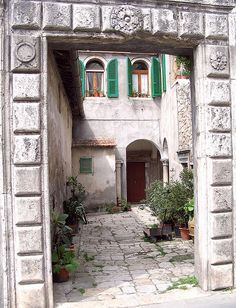 Old House in Grosseto, Tuscany