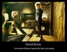 The new Defence Against the Dark Arts teacher
