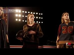 TOMMY HILFIGER constructs a football pitch for the fall winter 2015-2016 catwalk, to celebrate 30th anniversary of his clothing empire... watch the video, on FASHION CHANNEL!!!