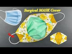 Easy Homemade Face Masks, Easy Face Masks, Diy Face Mask, Easy Sewing Projects, Sewing Tutorials, Sewing Machine Repair, Crochet Mask, Diy Kleidung, Craft Shop