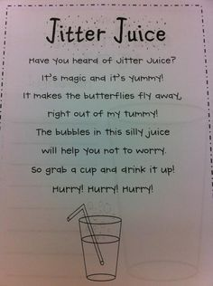 Jitter Juice poem.... Hawaiian Punch + Sprite