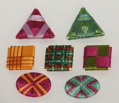 Gillian McMurray: Artist & Craftsperson: Button-a-Day for January
