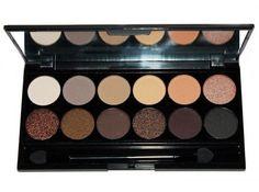 Sleek Makeup Au Naturel - jedna z najpopularniejszych palet marki Sleek Makup. Paleta składająca się głównie z cieni beżowych i brązowych. Idealna zarówno do lekkiego makijażu dziennego jak mocniejszego, wieczorowego.