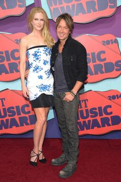 Nicole Kidman and Keith Urban attend the 2014 CMT Music awards in Nashville, Tennessee. via StyleList