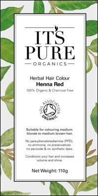 Shop for Organic Hair Dye - Herbal Hair Colour Henna Red By Its Pure Organics. Starting from Choose from the 2 best options & compare live & historic beauty prices. Natural Brown Hair, Medium Brown Hair, Organic Hair Dye, Herbal Hair Colour, Henna Hair Dyes, Hair Color Brands, Hair Powder, Hair Color Auburn, Blonde Color