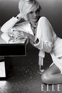 Katherine Heigl in Elle