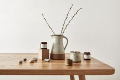 Leach Pottery and join candles available at the Kettle's Yard shop.