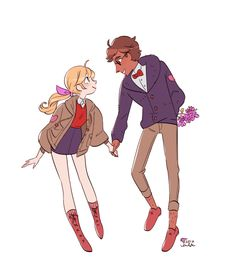 """I love art that is weirdly. It's not that they are standing but in a white background. They are genuinely """"floaty"""" and not standing in a way you would irl. Character Drawing, Character Illustration, Character Concept, Pretty Drawings, Cool Drawings, Pretty Art, Cute Art, Couple Poses Drawing, Art Poses"""