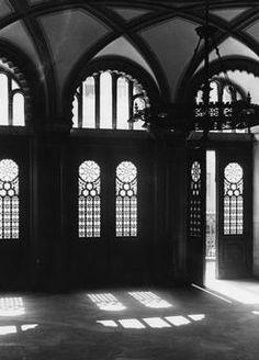1934 Neue Synagoge Oranienburgerstrasse Innenansicht und Hauptportal
