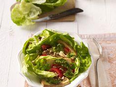 Gebratener Tofu mit grüner Salsa und Salat - smarter - Zeit: 30 Min. | eatsmarter.de