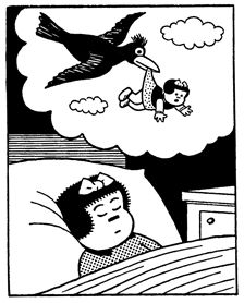 Nancy is surreal- by Ernie Bushmiller