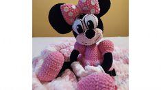 Návod na háčkovanie Minnie Mouse ~ Tvorím s láskou - by Peťka Crochet Toys, Minnie Mouse, Disney Characters, Peta, Blog, Blogging, Maps