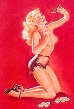 Freeman Elliot pin-up girl picture