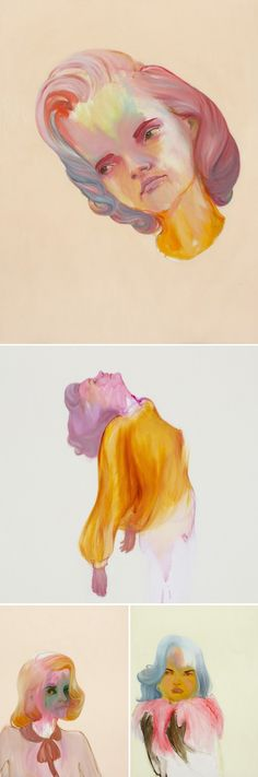 Oil paintings by Abbey McCulloch