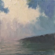 Painting a Day, Impressionist oil seascape by artist Steve Allrich.