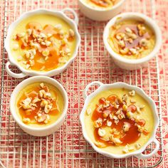 Our Maple Creme Brulee is filled with delicious #fall flavor. Find more decadent creme brulee recipes: http://www.bhg.com/recipes/desserts/other-desserts/creme-brulee-and-custard-recipes/?socsrc=bhgpin083112maplecremebrulee