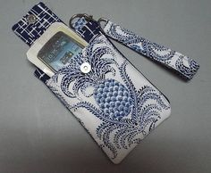 Women's Wristlet Wallet or Small Bag Phone Wallet