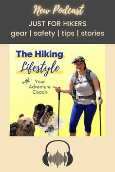 Welcome to The Hiking Lifestyle podcast with your host and adventure coach Mallory Moskowitz. This is our place to talk about all things hiking gear, safety, backpacking tips, hiking hacks, share stories, and ultimately explore more. Are you ready? Be sure to subscribe and give the Hiking Lifestyle podcast a listen.