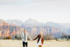 Southern Utah Engagements {Aaron & Cassidy} | utahbrideblog.com