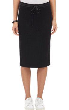 Vince. Scuba-Knit Pencil Skirt