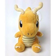 Pokemon 2010 Banpresto UFO Game Catcher Prize Dragonite Plush Toy