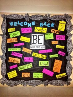 bulletin boards for middle school | Middle School Bulletin Board -Michele, I see additions to our hall ...