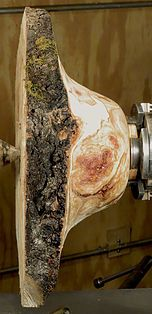 Burls and how to turn them into bowls with beautiful grain figuring and natural bark edges, details with images Cool Wood Projects, Lathe Projects, Wood Turning Projects, Woodworking Projects, Woodworking Lathe, Woodworking Skills, Bowl Turning, Woodturning Tools, Wood Turning Lathe