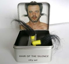 Hair-of-the-Silence-Earplugs.... For Christmas gag gift.